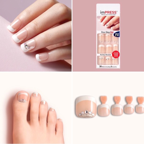 impress Other | Dashing Diva Toe Nails Kiss Finger Nails | Poshmark